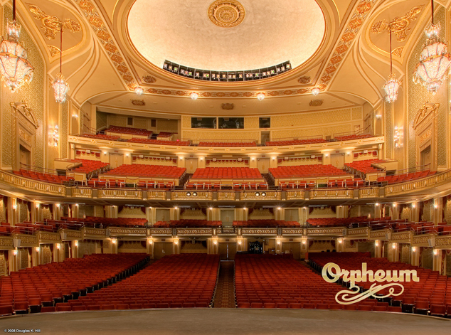 PHOTO CREDIT: Above photo of The Orpheum Theatre is from here.