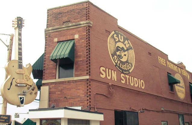PHOTO CREDIT: Above photo of Sun Studio is from here.