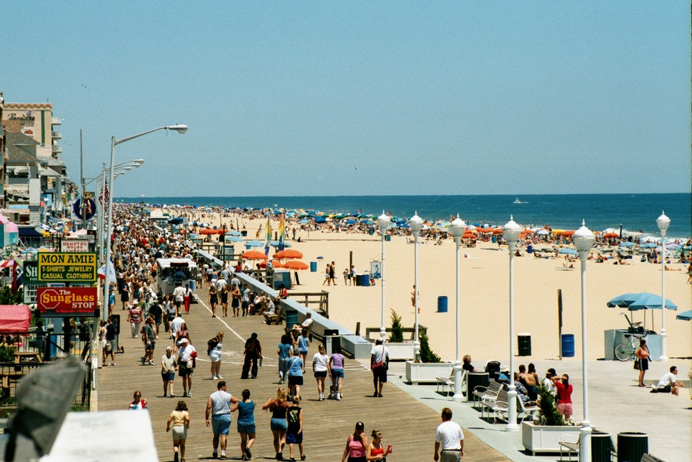 PHOTO CREDIT: Above photo of Ocean City's boardwalk area is fromhere.