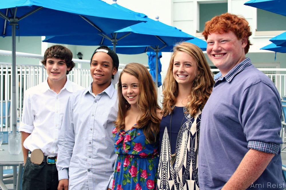 PHOTO CREDIT: Above photo of the young cast is by Ami Reist, Staff Writer at Shore Bread.