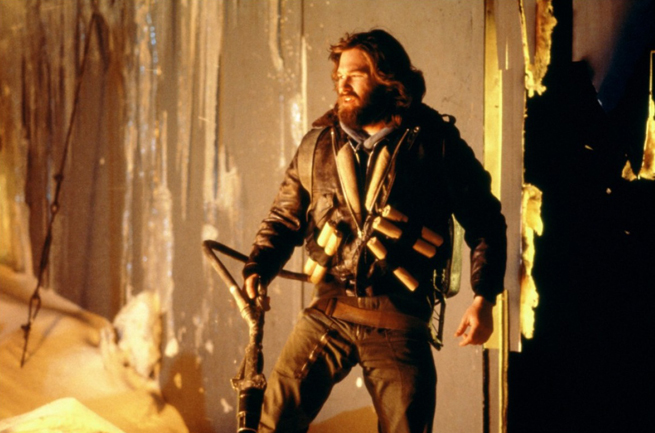 "PHOTO CREDIT:  Above is a photo of Kurt Russell in John Carpenter's 1982 ""The Thing"" - courtesy of  IMDB ."