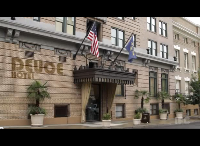 PHOTO CREDIT: Above screenshot of Portlandia's Deuce Hotel was filmed on location at the ACE Hotel Portland.