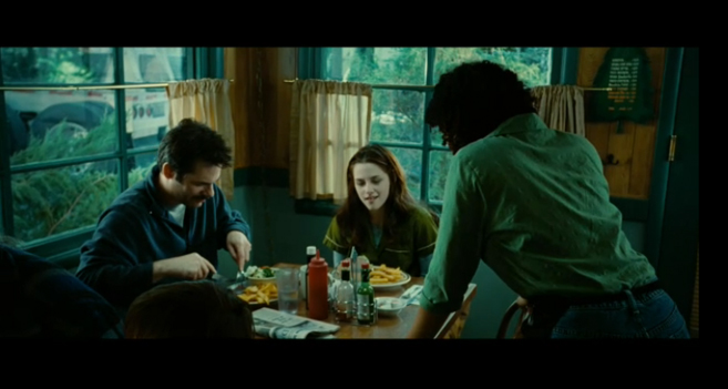 PHOTO CREDIT: The above is a screenshot from Twilight filmed on location at The Carver Café.