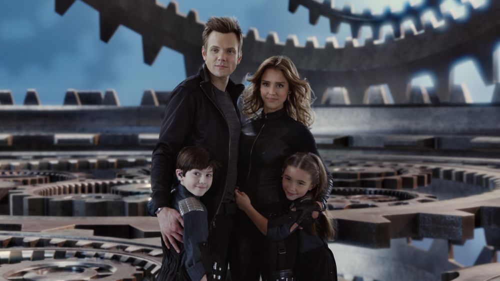 Production still of  Spy Kids: All The Time in The World  - filmed in Austin, Texas - via  Google .