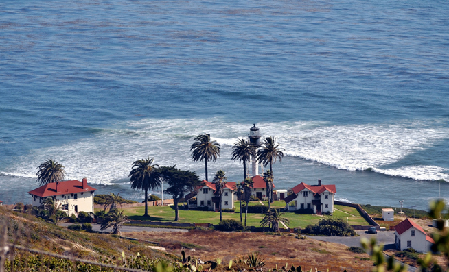 PHOTO CREDIT: Above photo of the Point Loma Coastguard Lighthouse belongs to Loco Steve.