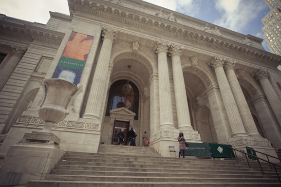 (Image of the New York Public Library by Sarah Le for LocationsHub - all rights reserved.