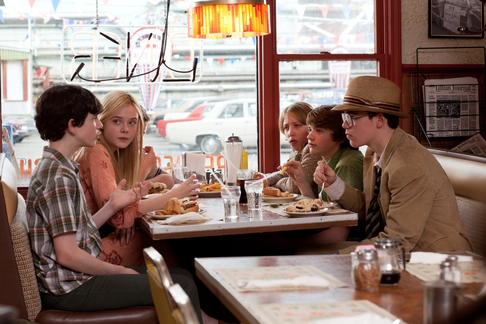 Production still of Super 8 via  Google .