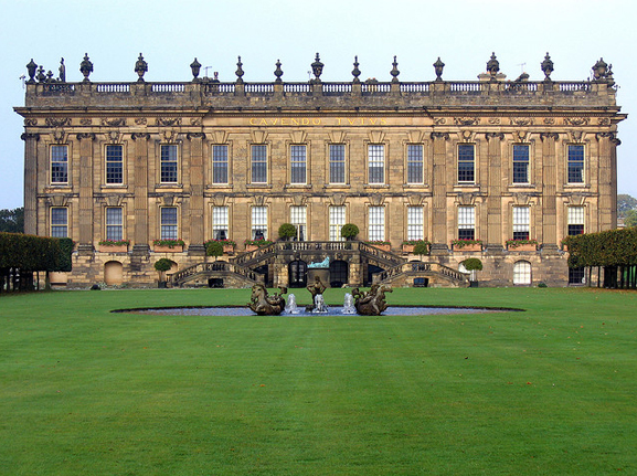 Chatsworth House photo via Google.