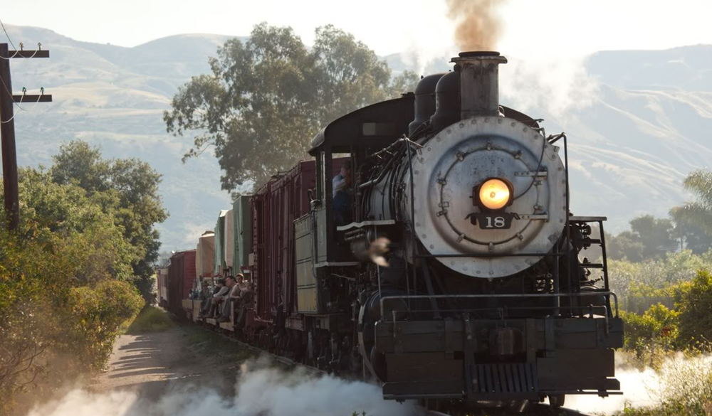 Photo of the train set on  Water For Elephants  via  Google .