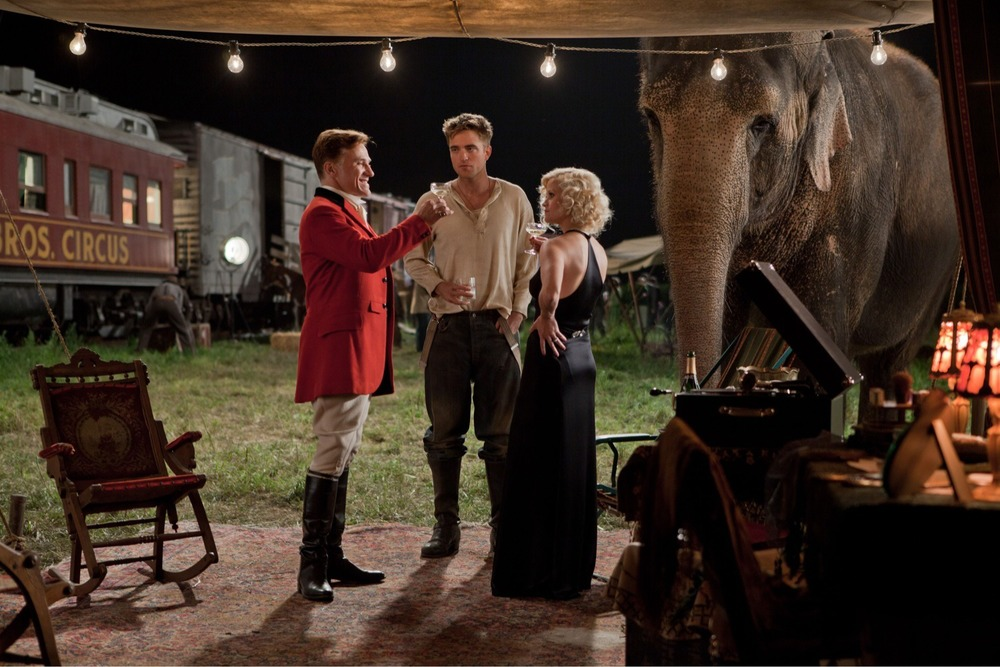 Production still from  Water For Elephants  via  Google .