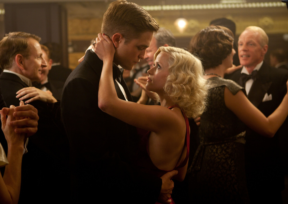 Production still of the speakeasy scene in  Water For Elephants  via  Google.