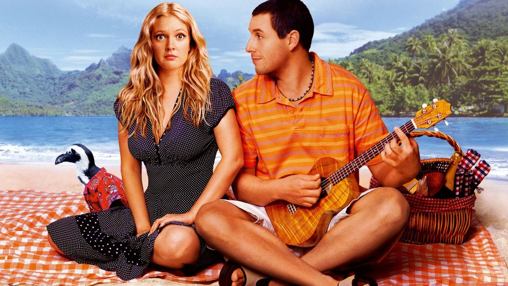 Production still of 50 First Dates via Google.