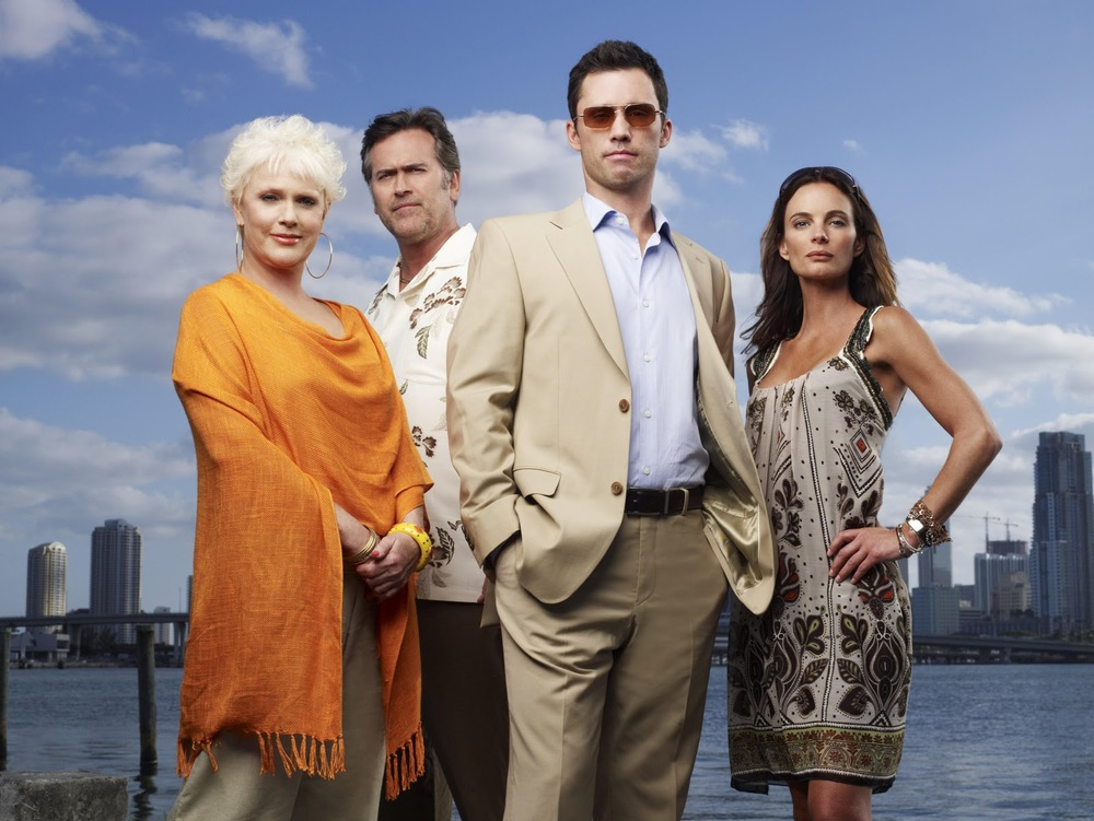 Production still of  Burn Notice  via  Google .