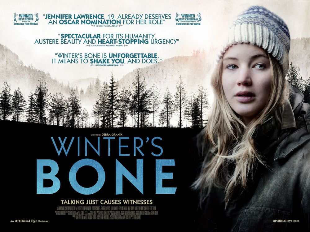 Winter's Bone,  filmed in the Ozarks Mountains of Missouri. Read more: our  article on the film locations of  Winter's Bone  .