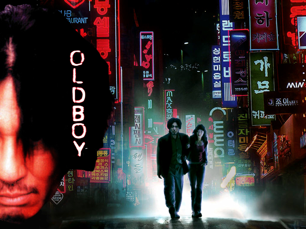Old Boy, a disturbing, twisted thriller by director Park Chan-Wook.