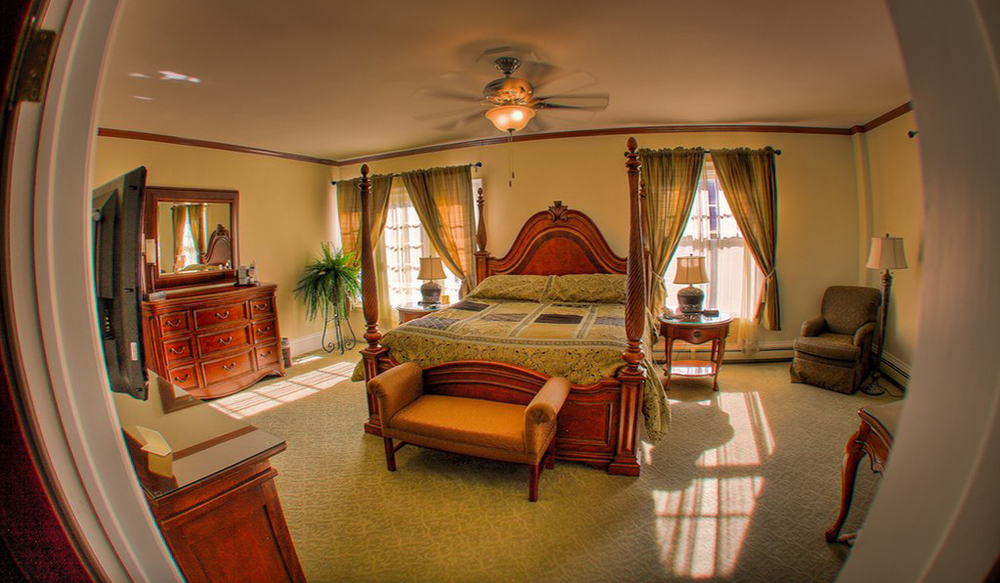 Room 217 at the Stanley Hotel - image via  Google .