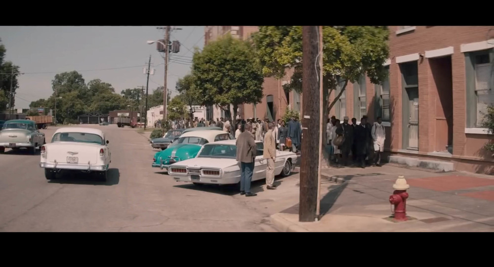 Screenshot of   Selma   - though the actual film location might be around   Georgia's Marietta Square.