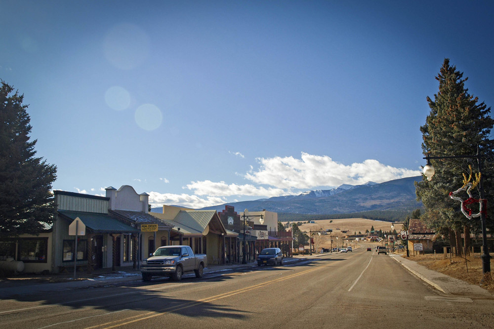 Eagle Nest, New Mexico - one of the film locations of Longmire - image via the New Mexico Film Office.
