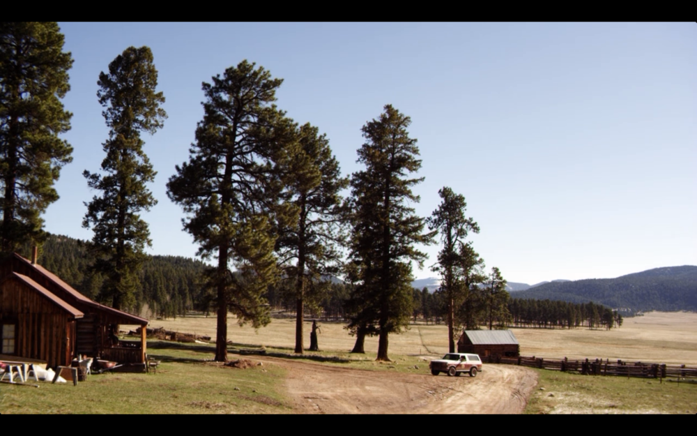 Screenshot from Longmire (Season 1, pilot episode).