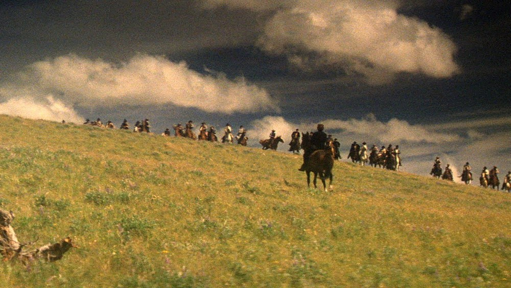 Scene from  Heaven's Gate  via  The Criterion Collection .