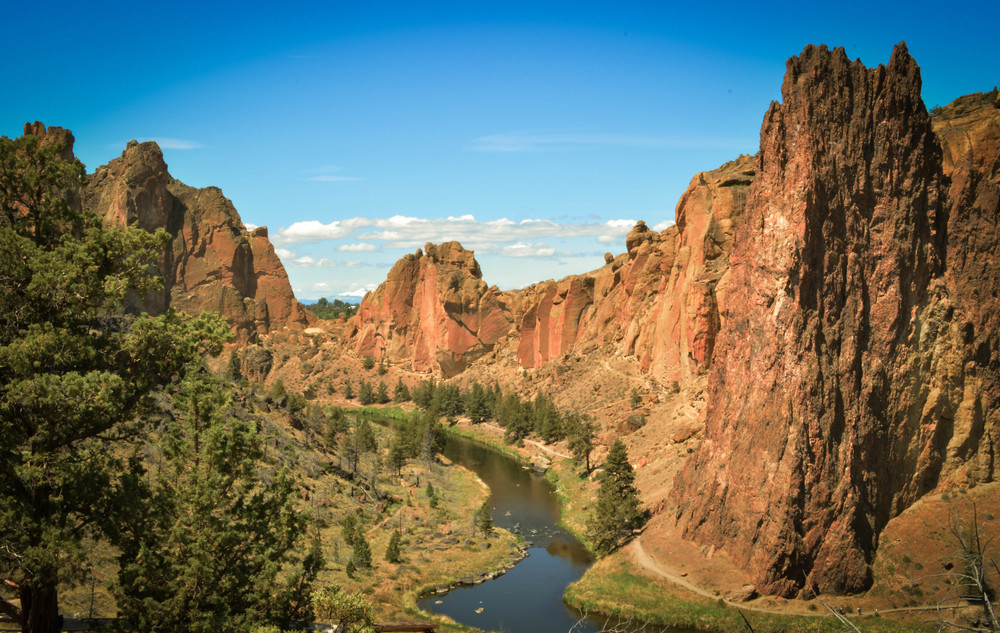 Smith Rock State Park - photo via Google.