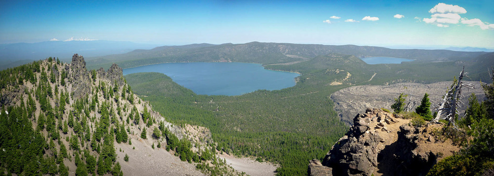 Photo of Newberry National Volcanic Monument via Google.