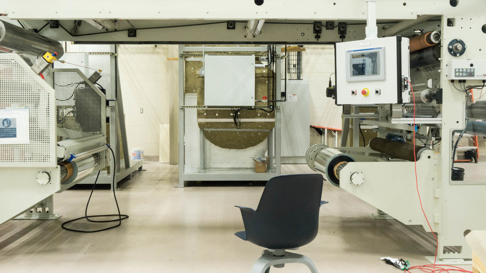 The Advanced Manufacturing High Bay is equipped with cutting-edge technologies for training purposes.