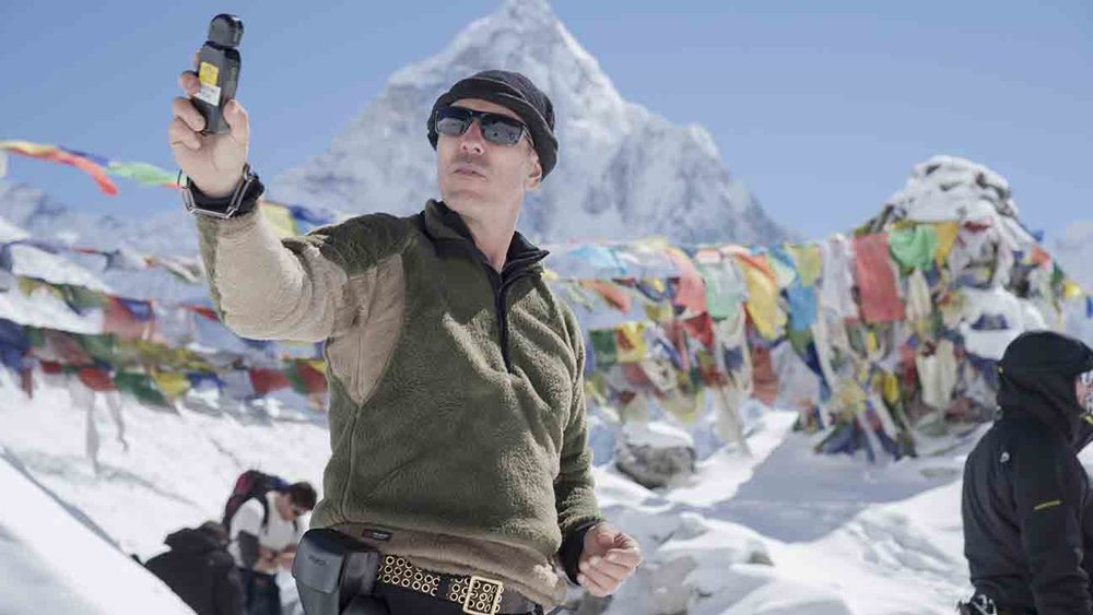 Salvatore Totino, director of photography for Everest - image via Google.