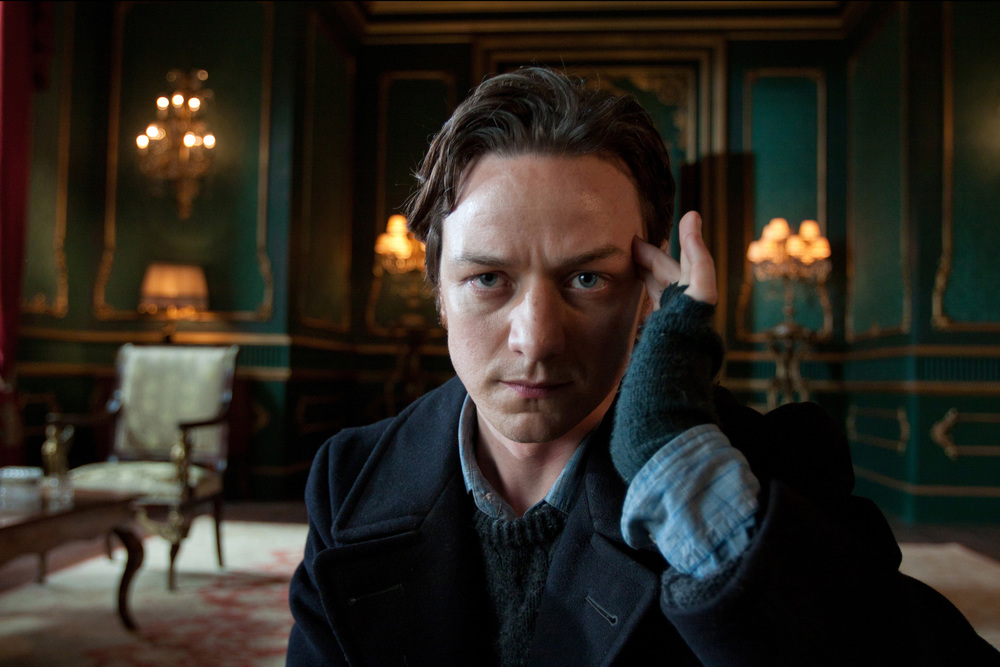 James McAvoy in X-Men: First Class, filmed partly in Savannah (image via Google).