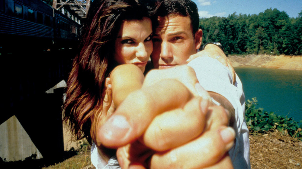 Sandra Bullock and Ben Affleck in Force of Nature, filmed partly in Savannah (image via Google).