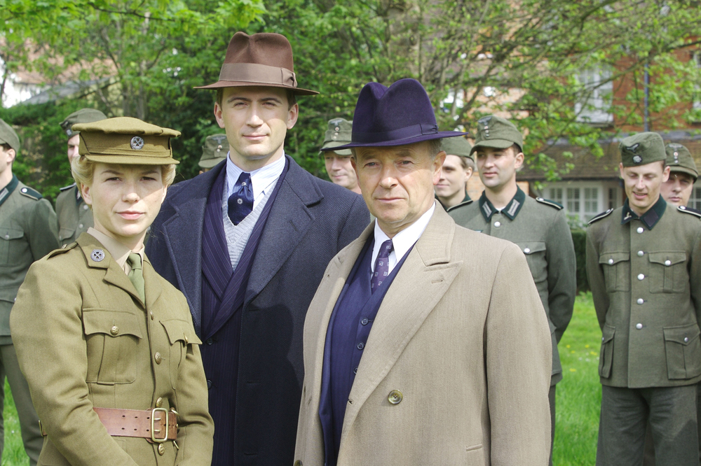 A production still of  Foyle's War  set and filmed in Hastings, East Sussex - image via  Google .