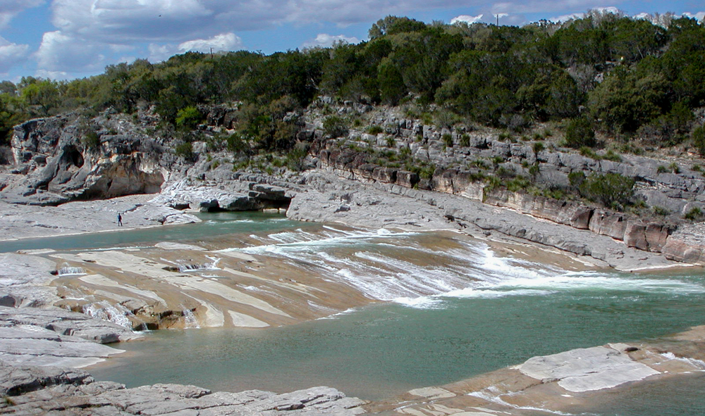 Pedernales Falls State Park in the Texas Hill Country - a film location of Boyhood. (Image via Google.)
