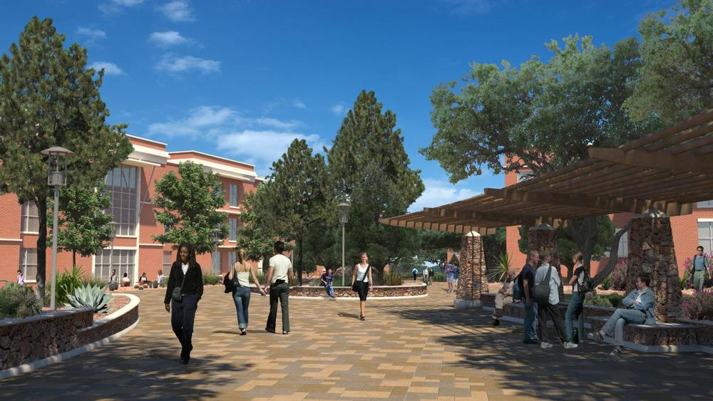 Sul Ross State University, a film location for Boyhood. (Image via Google.)