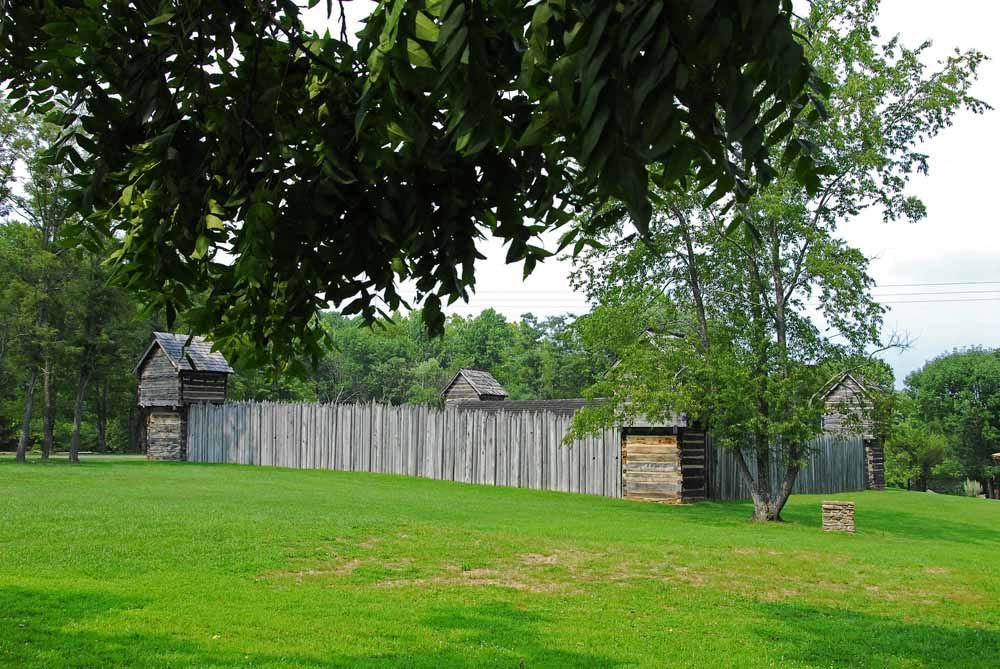 Prickett's Fort State Park - photo via  LocationsHub .