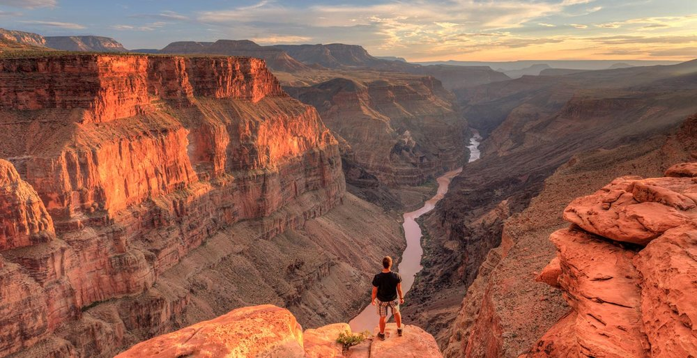 Among the many movies shot at the Grand Canyon National Park are Into The Wild, National Lampoon's Vacation, Next, Maverick, The Guilt Trip, Fools Rush In, and Grand Canyon, Photo via Google.