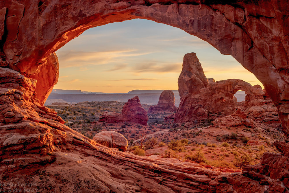 Movies that were shot at Arches National Park include Indiana Jones and the Last Crusade, City Slickers II, and Thelma and Louise. Photo via Google.