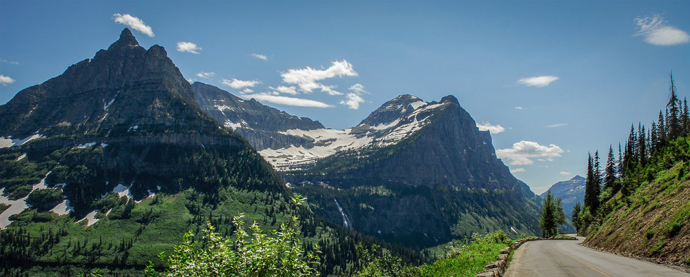 Glacier National Park was the film location for many movies, including The Shining and Forrest Gump.