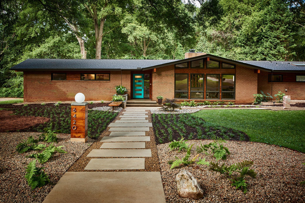 FEATURED LOCATION: Mid-Century Modern Ranch in North Carolina ...