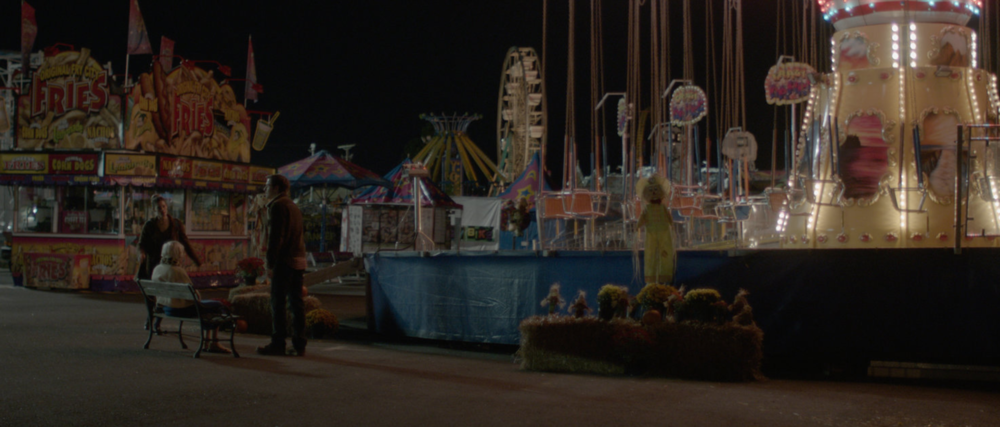The above scene from 'Antiquities' was shot at the Arkansas State Fairgrounds, Little Rock, Arkansas.