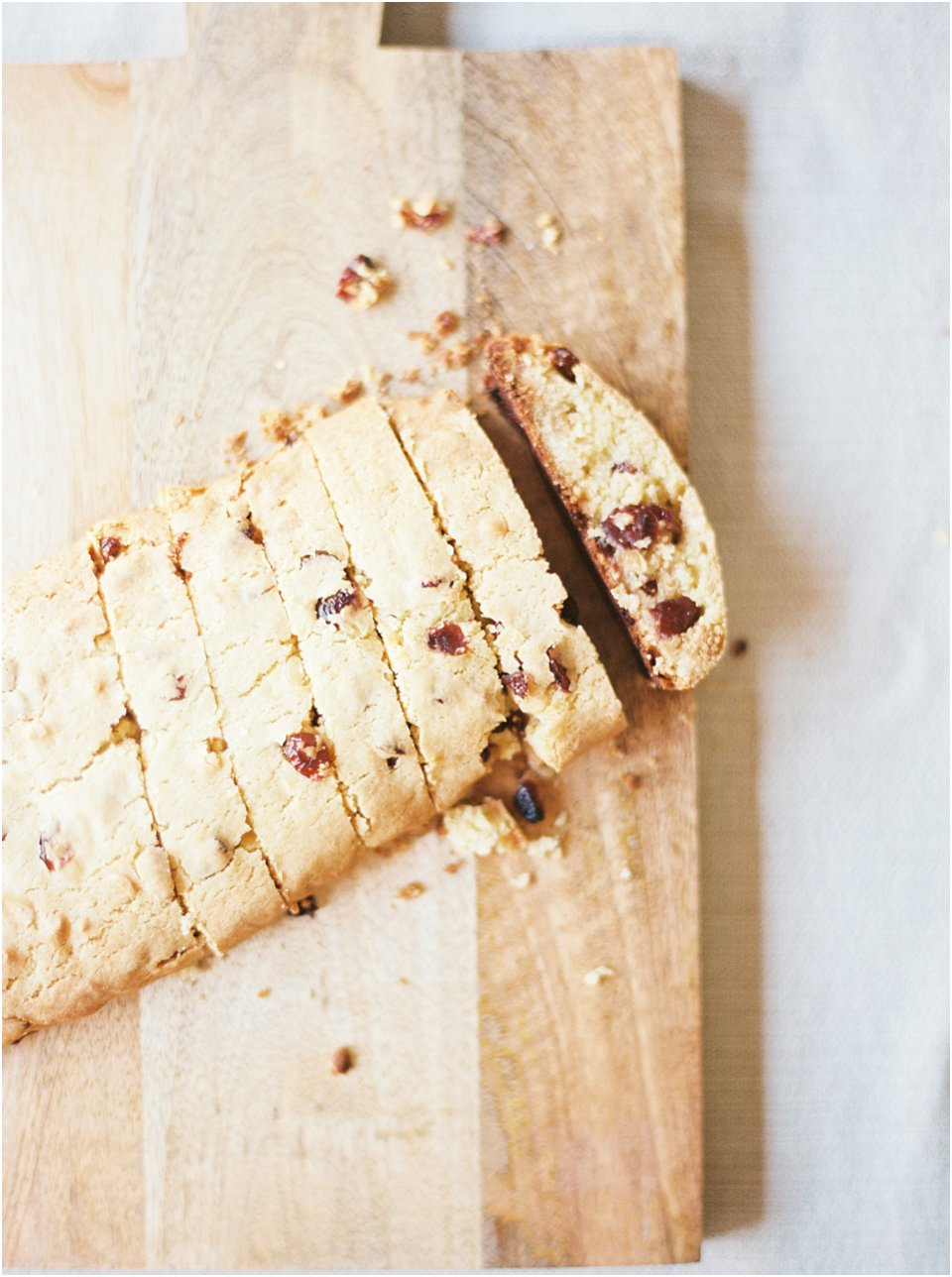 Jessica Christine Photography - Cranberry White Chocolate Biscotti