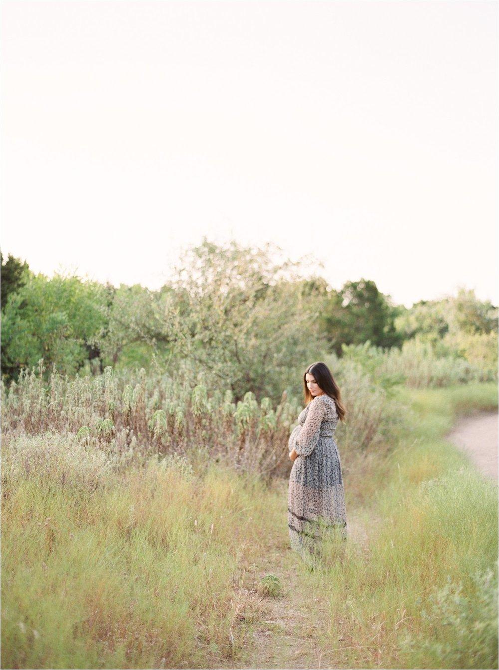 Fine Art Film Maternity Photographer - Jessica Christine Photography - Makenzi