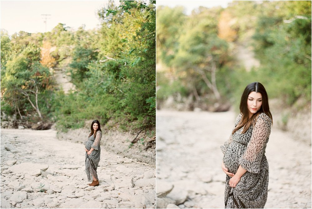 Fine Art Film Maternity Photographer - Jessica Christine Photography - Makenzi