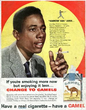 Camel advertisement, 1960