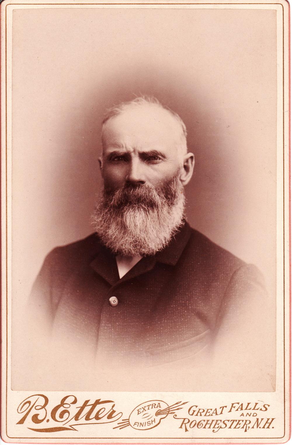 Victorian beard