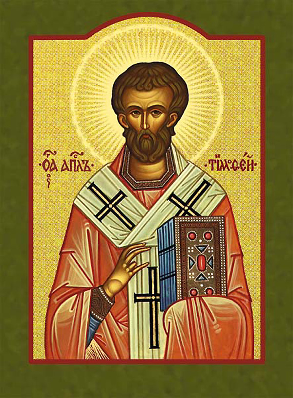 Icon of St Timothy