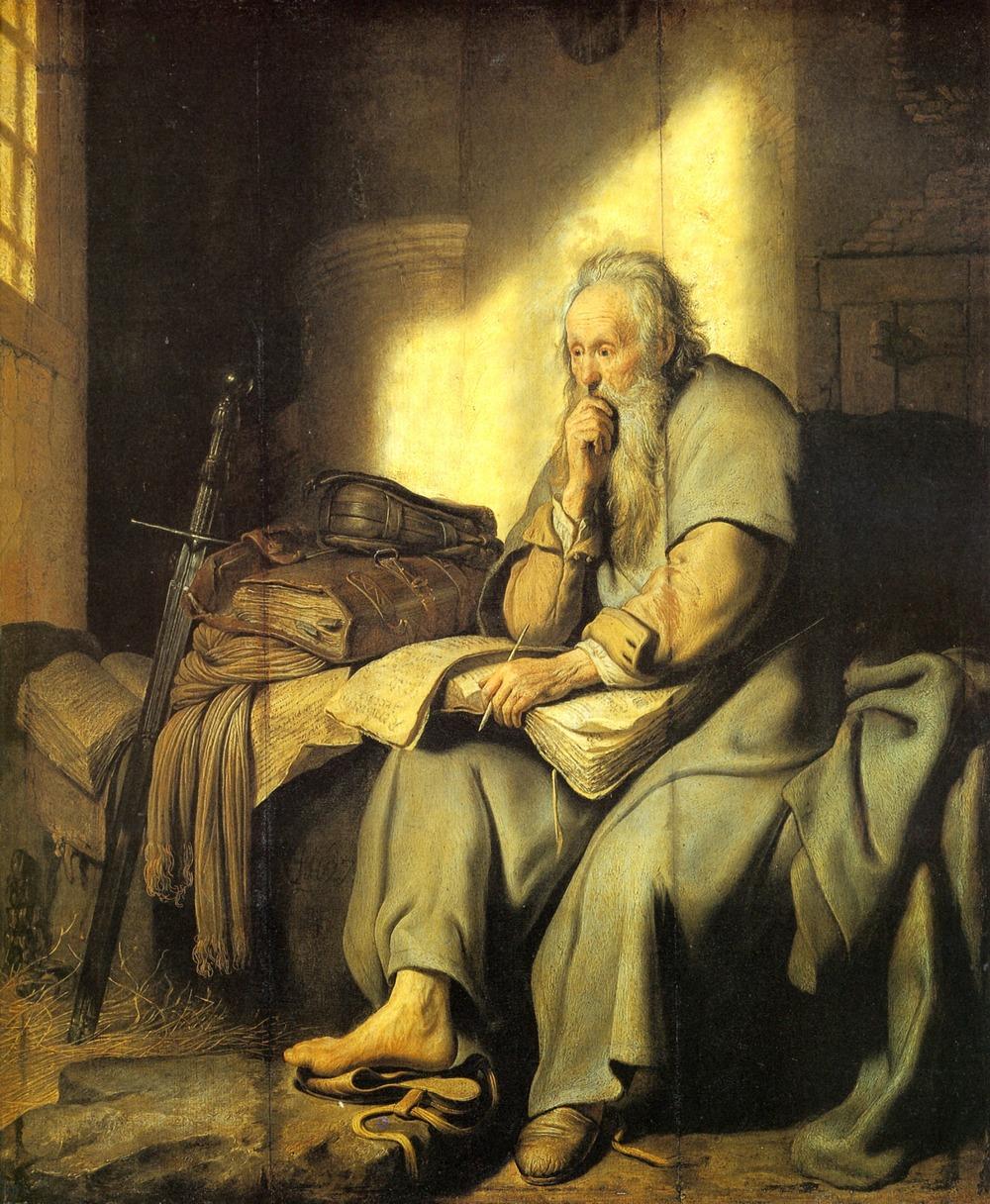 Rembrandt,St Paul In Prison,1627