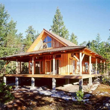 Remote Cabin on Cortes Island, British Columbia