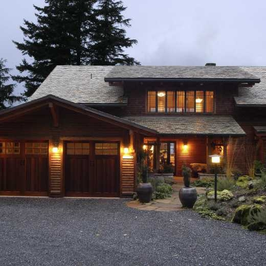 Craftsman Home on Orcas Island, Washington
