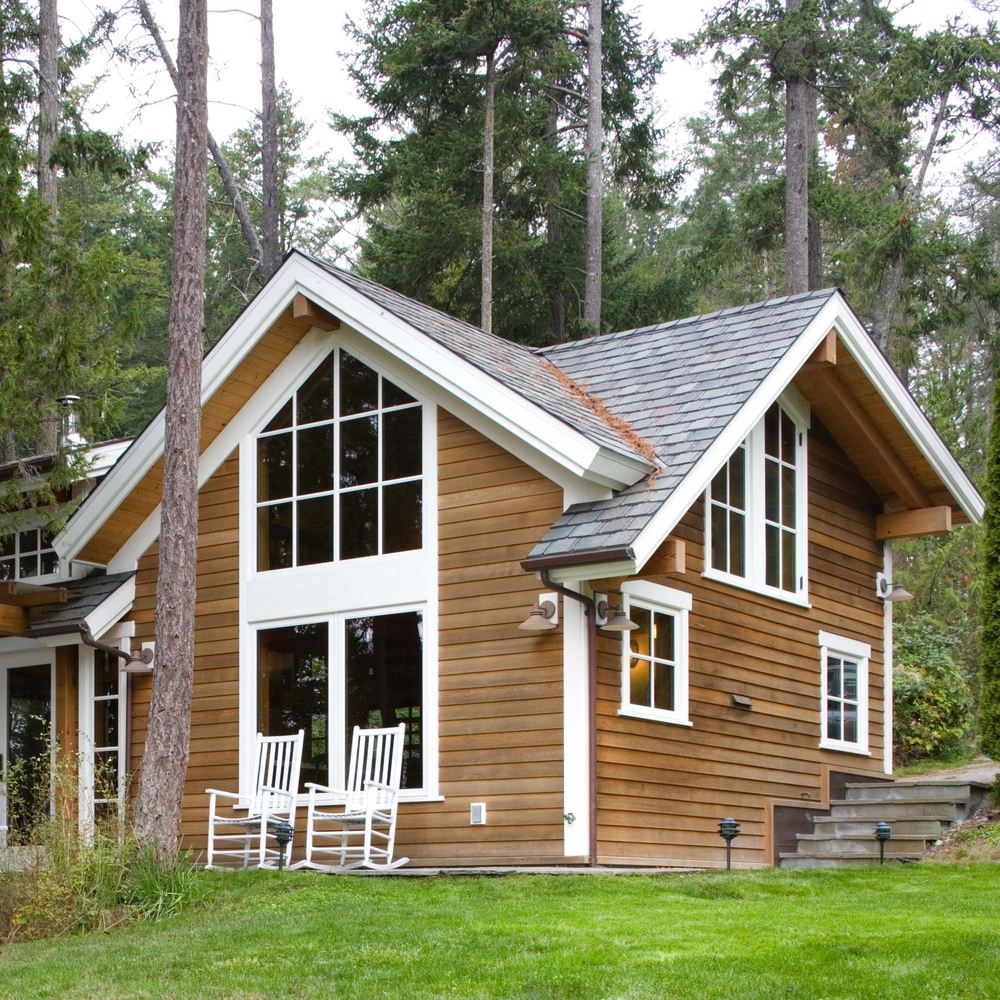 Small Cabin on San Juan Island, Washington