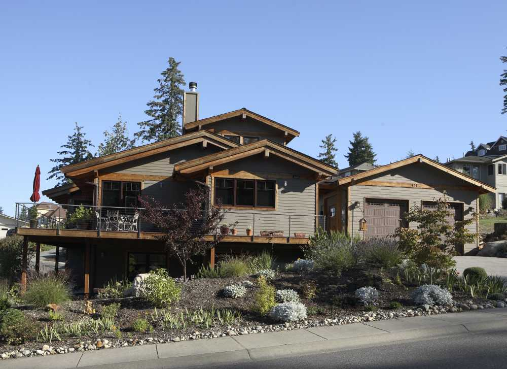 Bellingham Modern House Design - Exterior 2nd View